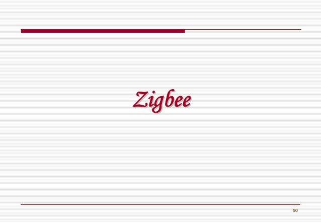50 ZigbeeZigbee