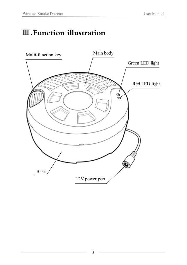 Wireless Smoke Detector(WL FD-a)