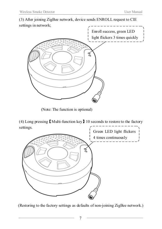 Wireless Smoke Detector User Manual  2. Software download  (1) Please select corresponding operating software according to...