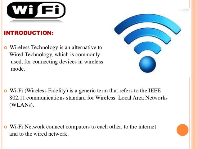 4 g wireless technology.
