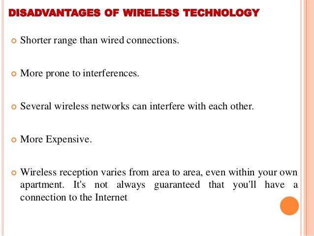 limitation of wireless network