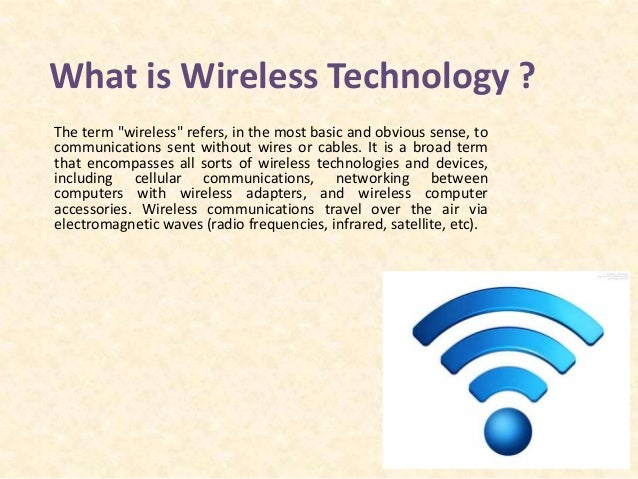 wireless signals four different types of wireless technologies Here are the broad strokes about 80211ad, the wireless technology that's just  starting to hit the market  4 building blocks to hybrid it  could we maybe get  some different names for this stuff no  the much higher frequency of 80211 ad simply means that its signals can carry more information, which.