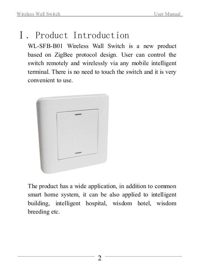 Wireless Wall Switch Slide 3