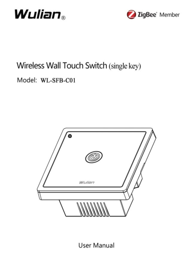 Wireless Wall Touch Switch User Manual  1  CCCCooooppppyyyyrrrriiiigggghhhhtttt nnnnoooottttaaaattttiiiioooonnnn  ©2012 NN...