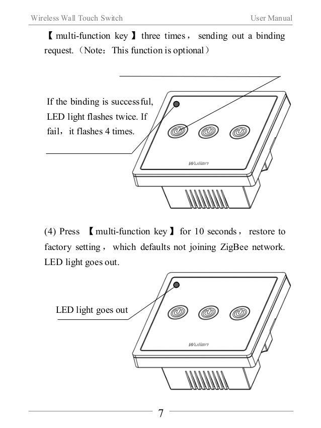 Wireless Wall Touch Switch User Manual  2222.... SSSSooooffffttttwwwwaaaarrrreeee DDDDoooowwwwnnnnllllooooaaaadddd  (1) Pl...