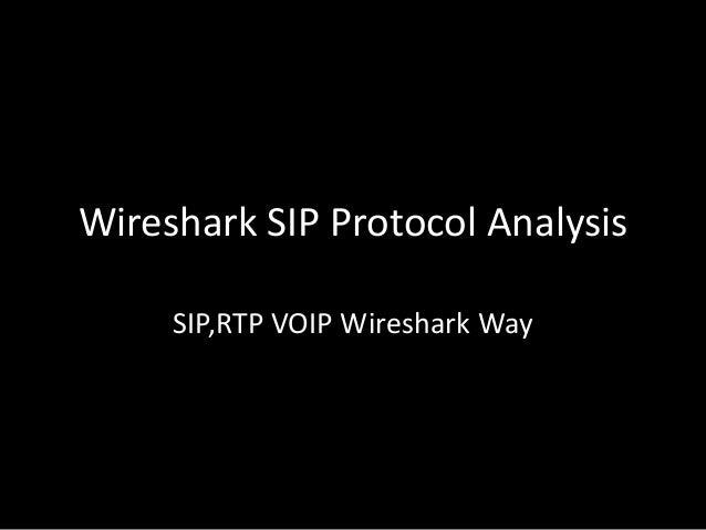 Wireshark SIP Protocol Analysis SIP,RTP VOIP Wireshark Way