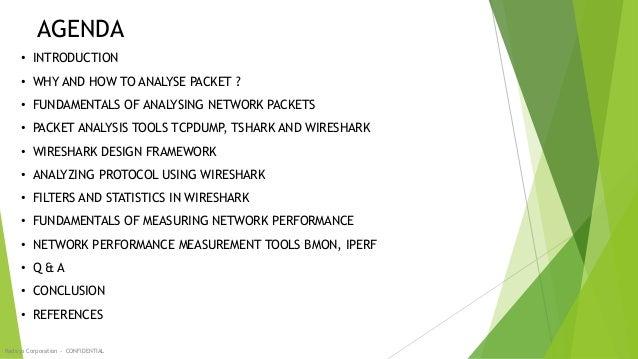 Wireshark, Tcpdump and Network Performance tools