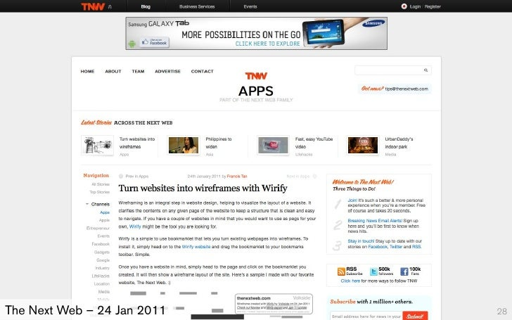 The Next Web – 24 Jan 2011   28