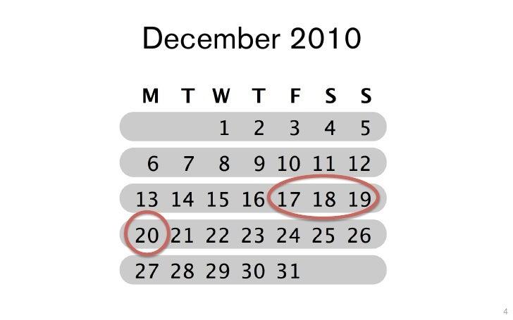 December 2010                4