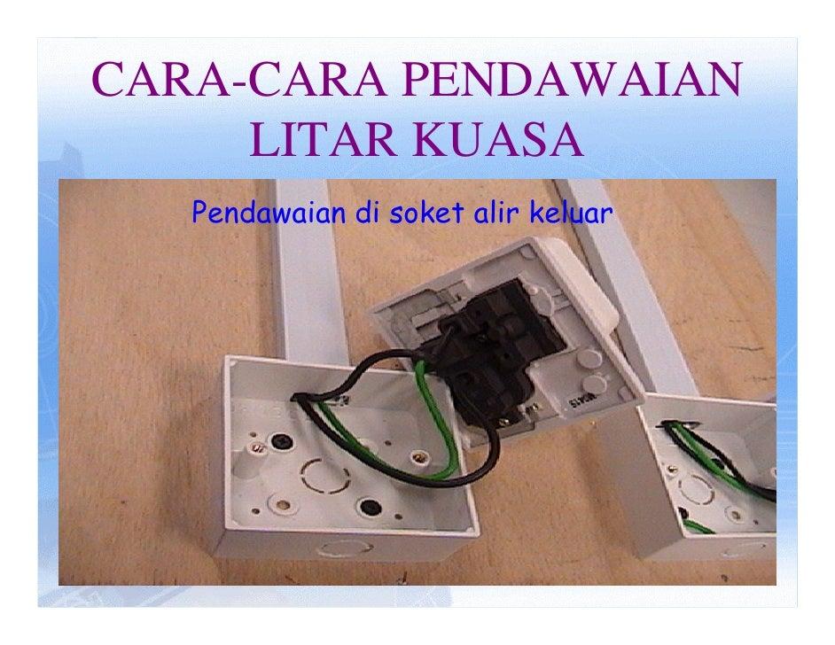 wiring rh slideshare net Lampu Taman Rumah Lampu LED Rumah