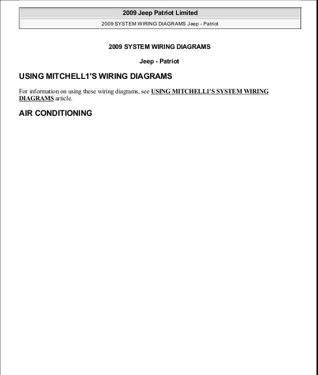 manual reparacion jeep compass patriot limited 2007 2009_wiring 2006 jeep  grand cherokee wiring diagram 2011 jeep patriot wiring diagram