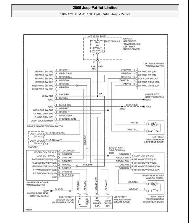 2009 Jeep Patriot Wiring Diagram Wiring Data