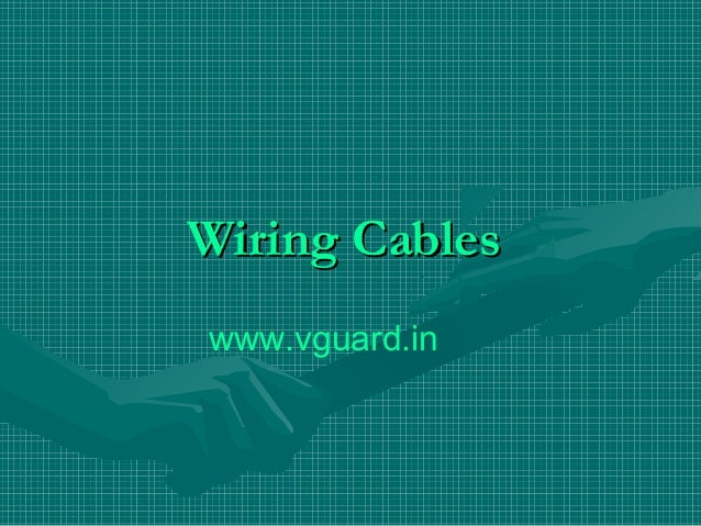 Wiring Cableswww.vguard.in