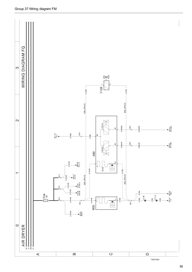 wiring diagram fm (euro5), Wiring diagram