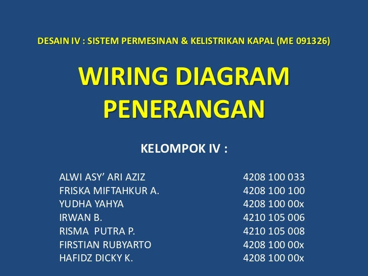 wiring diagram penerangan rh slideshare net pengertian wiring diagram pdf pengertian wiring diagram pdf