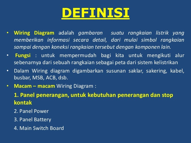 Wiring diagram penerangan 2 definisi wiring diagram adalah ccuart Image collections