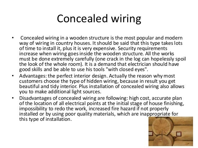 Open Wiring Systems - Electrical Work Wiring Diagram •