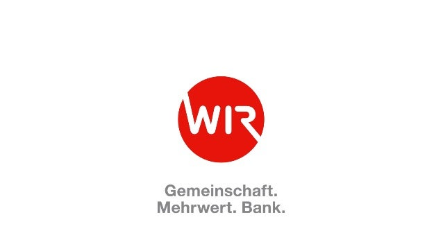 WIR SIND KMU. Und du? Eine Initiative der WIR Bank Genossenschaft 2www.kmu-und-du.ch