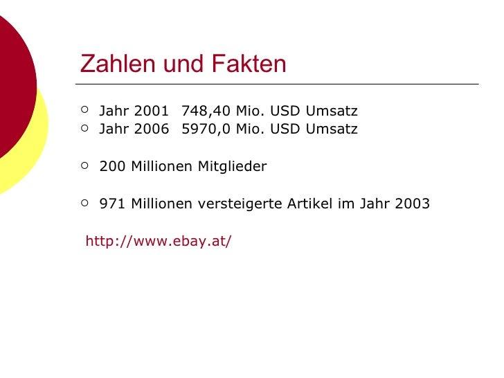 Zahlen und Fakten <ul><li>Jahr 2001 748,40 Mio. USD Umsatz </li></ul><ul><li>Jahr 2006 5970,0 Mio. USD Umsatz </li></ul><u...
