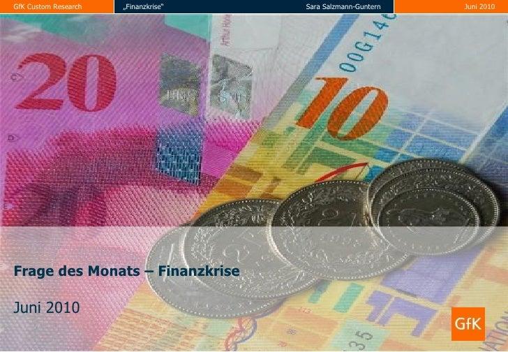 Wirtschaftskrise - quo vadis? / Wirtschaftskrise: Glaube der Schweizer an Aufstieg hält an - trotzdem wird weiter gespart