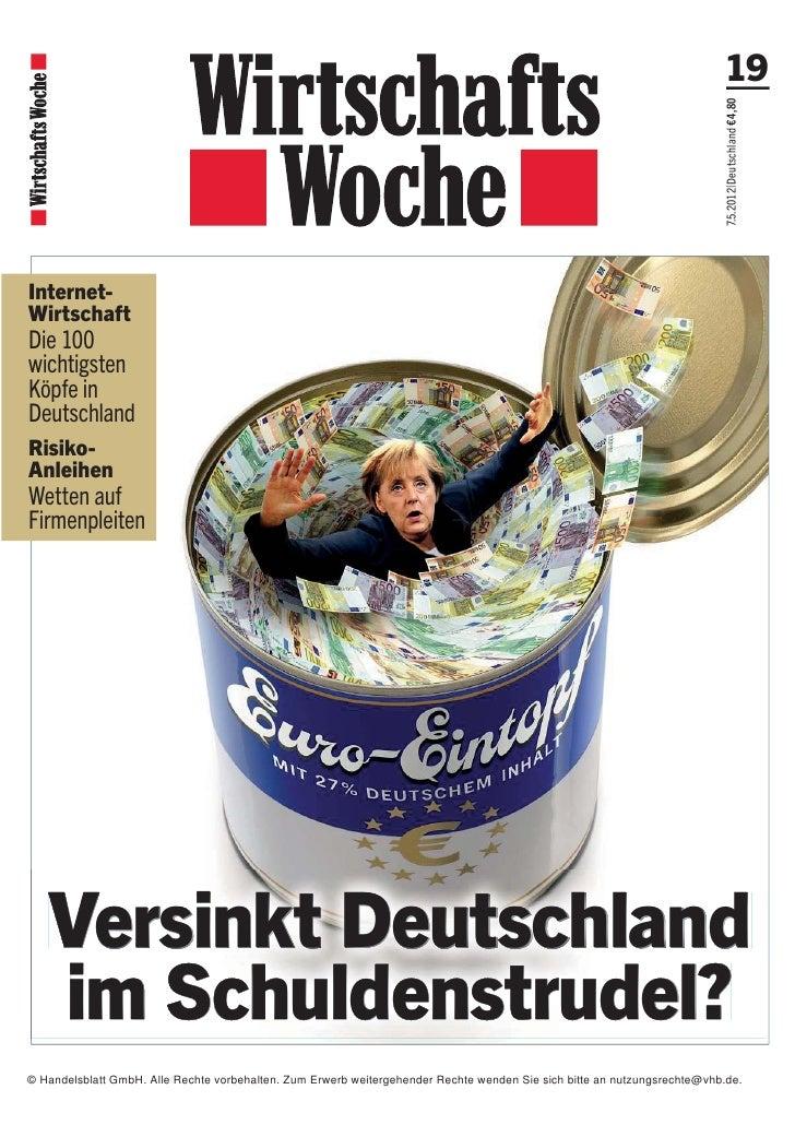 © Handelsblatt GmbH. Alle Rechte vorbehalten. Zum Erwerb weitergehender Rechte wenden Sie sich bitte an nutzungsrechte@vhb...
