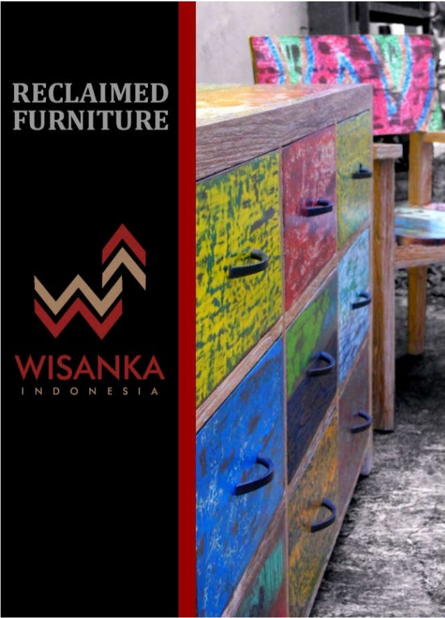 Wisanka catalog   reclaimed furniture