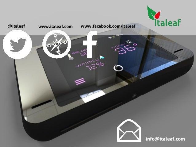 Wisave - Iot smart thermostat Italeaf