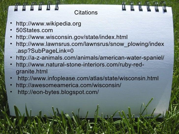 Citations <ul><ul><li>http://www.wikipedia.org </li></ul></ul><ul><ul><li>50States.com </li></ul></ul><ul><ul><li>http://w...