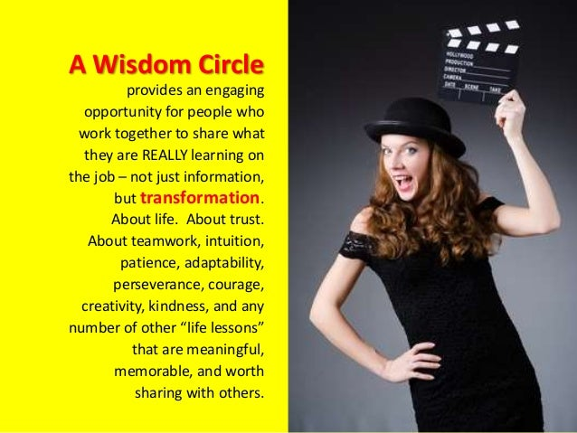 Wisdom Circles Slide 2