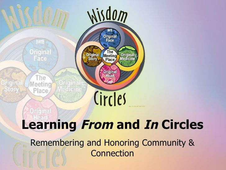 Learning  From  and  In  Circles Remembering and Honoring Community & Connection