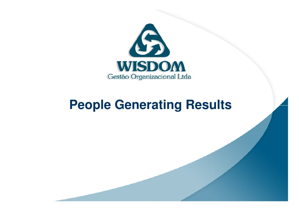 People Generating Results