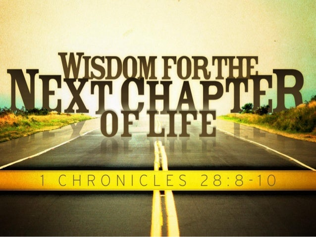 Introduction:  • As we continue down life's road, we must seek wise guidance. • Let us with zeal consider David's advice a...