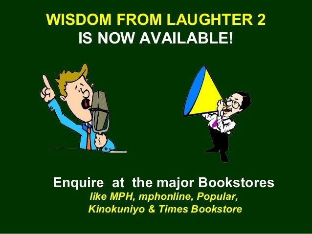 Wisdom From Laughter 2