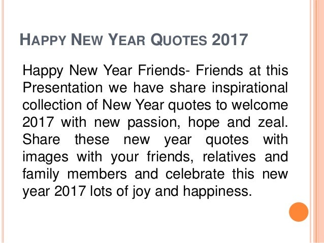 Wisdom Happy New Year 2017 Quotes With Images