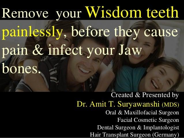 Created & Presented by Dr. Amit T. Suryawanshi (MDS) Oral & Maxillofacial Surgeon Facial Cosmetic Surgeon Dental Surgeon &...