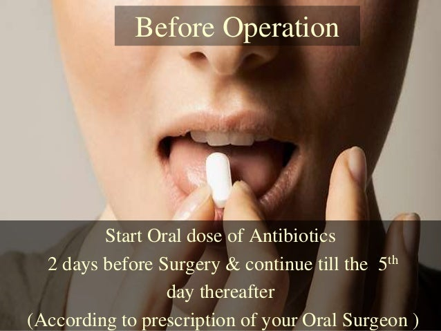 Remove you wisdom teeth before they cause pain & Infection