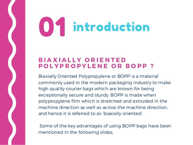 Key Advantages of Using BOPP Courier Bags