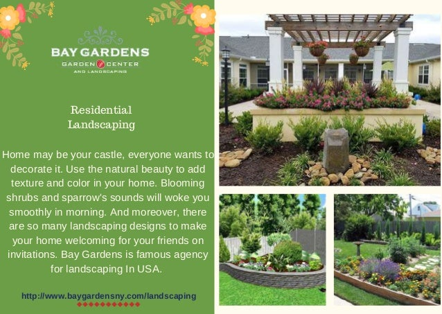 Decorate Your Home With Best Landscaping Design In Usa