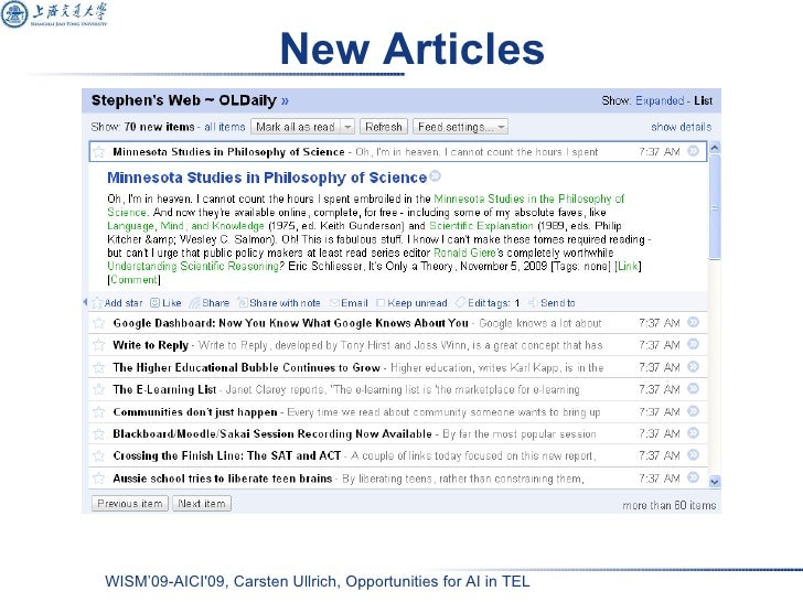 New Articles