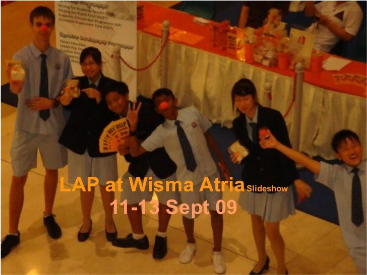 LAP at Wisma Atria   Slideshow 11-13 Sept 09