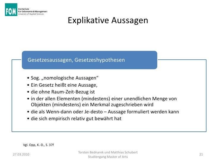 """Explikative Aussagen         Gesetzesaussagen, Gesetzeshypothesen        • Sog. """"nomologische Aussagen""""        • Ein Geset..."""