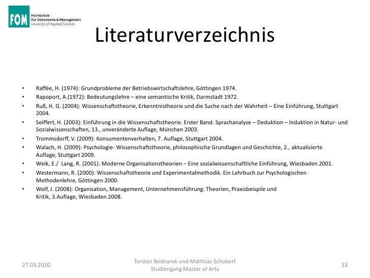 Literaturverzeichnis•   Raffée, H. (1974): Grundprobleme der Betriebswirtschaftslehre, Göttingen 1974.•   Rapoport, A.(197...