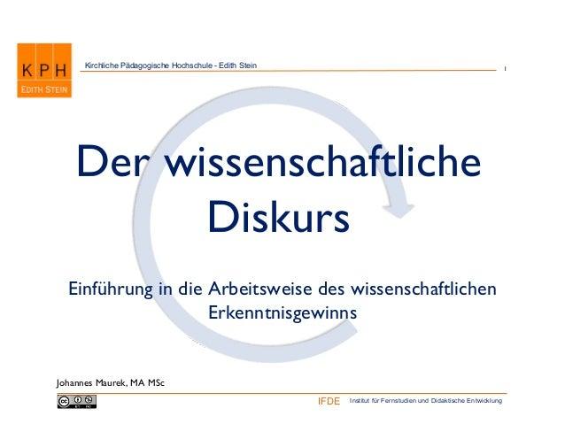 Kirchliche Pädagogische Hochschule - Edith Stein                                                                 1   Der w...