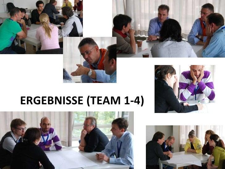 ERGEBNISSE (TEAM 1-4)