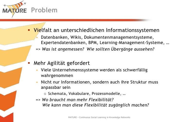Wissensreifung - neue Perspektiven für das Informationsmanagement Slide 3