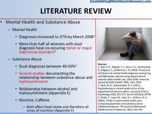nutrition and substance abuse