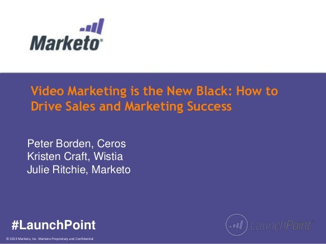 Video Marketing is the New Black: How to Drive Sales and Marketing Success