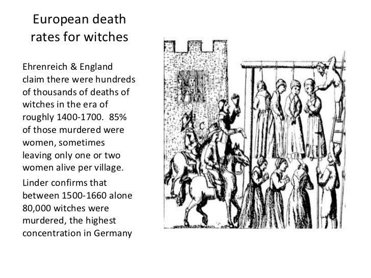 Witch Craze DBQ AP Euro Essay