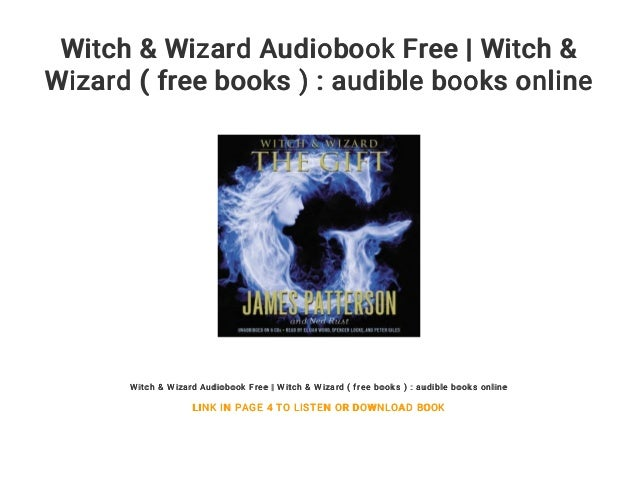 Witch & Wizard Audiobook Free | Witch & Wizard ( free books