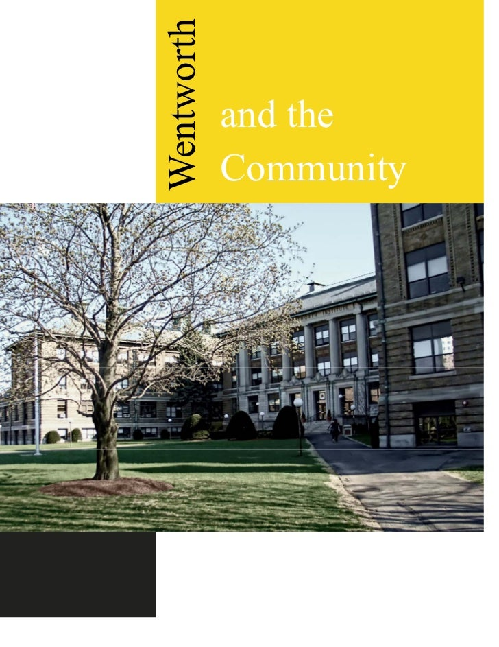Wentworth            and the            Community